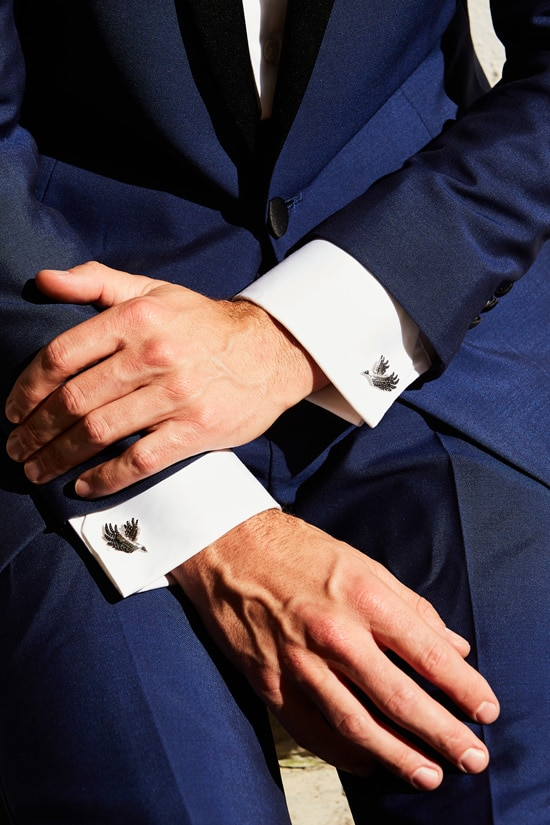 The Tuxedo Myth - by David Gotlib - Designer cufflinks