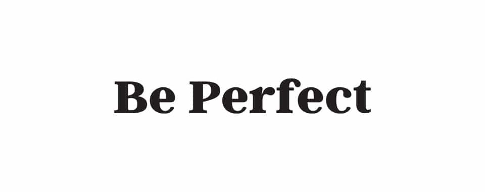 Logo be Perfect - David Gotlib